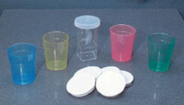 Medikamentenbecher EM 25 ml Gelb PP - Medikamentenbecher EM 25 ml Gelb PP