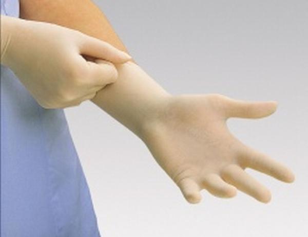 Handschuh Manus Poly Steril Mittel - Saarmed Medizinbedarf GmbH Onlineshop