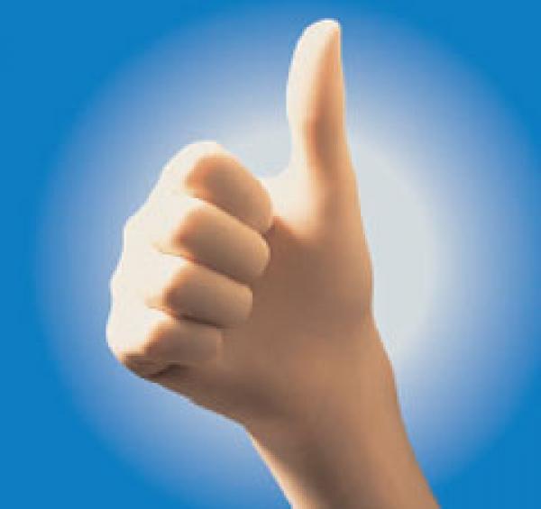 Handschuh Latex Sempercare Gr. M - Saarmed Medizinbedarf GmbH Onlineshop