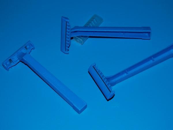 Einmalrasierer blau - Einmalrasierer blau
