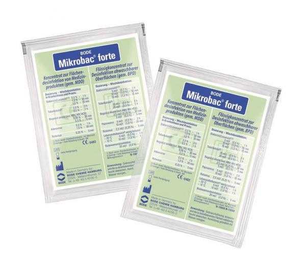 Bode Mikrobac forte 20 ml Btl. - Bode Mikrobac forte 20 ml Btl.