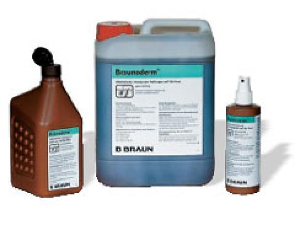 Braun Braunoderm gefärbt 1000 ml - Saarmed Medizinbedarf GmbH Onlineshop