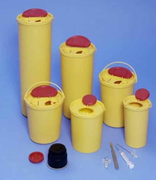 Kanülenabfallbehälter Kontamed Multi-Safe 500 - Kanülenabfallbehälter Kontamed Multi-Safe 500