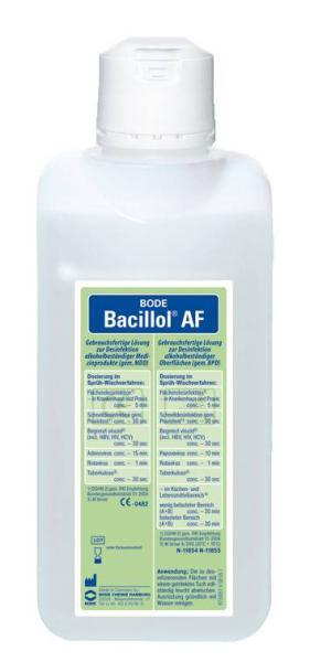 Bode Bacillol AF 500 ml - Bode Bacillol AF 500 ml
