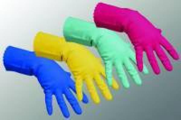 Handschuh Gummi Gr. S - Handschuh Gummi Gr. S