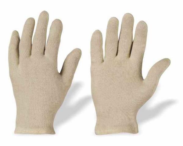 Handschuh Stoff weiß, Paar, Baumwolle - Handschuh Stoff weiß, Paar, Baumwolle