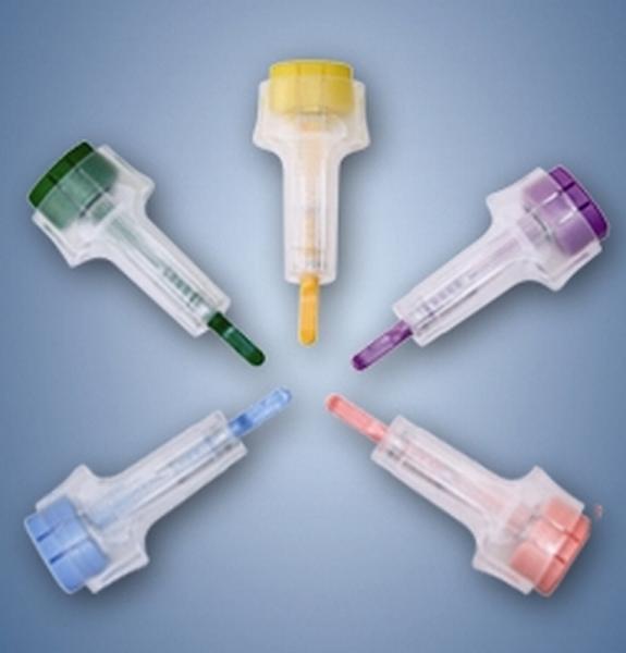Lanzette Safety super violett - Saarmed Medizinbedarf GmbH Onlineshop