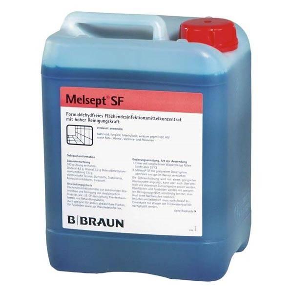 Braun Melsept 5000 ml - Saarmed Medizinbedarf GmbH Onlineshop