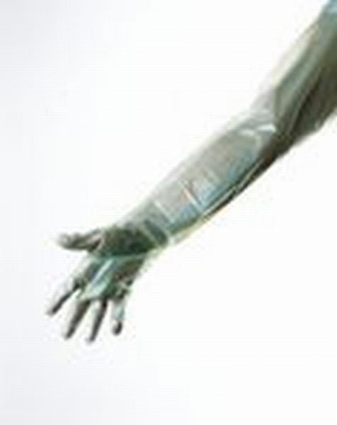 Handschuh Clinhand Grün 90 cm - Saarmed Medizinbedarf GmbH Onlineshop