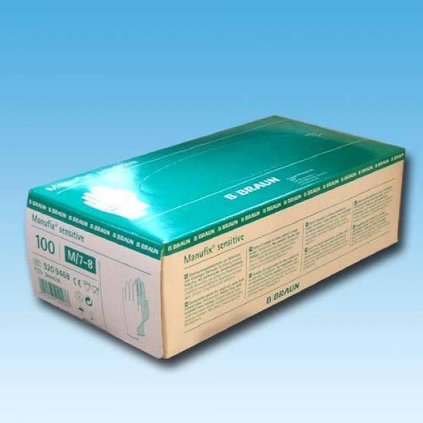 Handschuh Latex Braun Manufix Gr. L - Saarmed Medizinbedarf GmbH Onlineshop