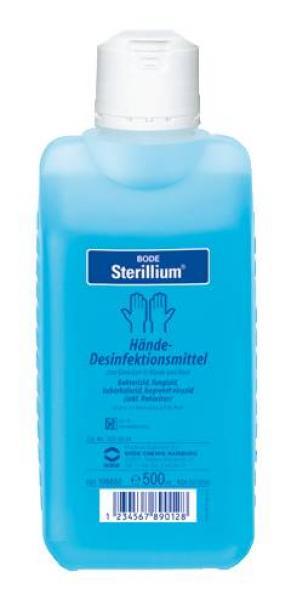 Desinfektion Bode Sterillium 500ml - Saarmed Medizinbedarf GmbH Onlineshop