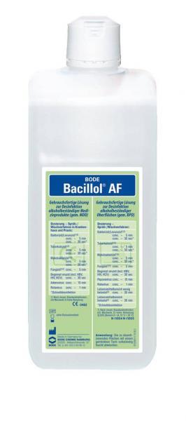 Bode Bacillol AF 1000 ml - Saarmed Medizinbedarf GmbH Onlineshop
