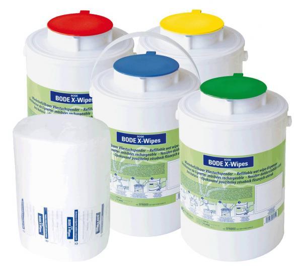 Bode X-Wipes Spender m. grünem Deckel - Saarmed Medizinbedarf GmbH Onlineshop