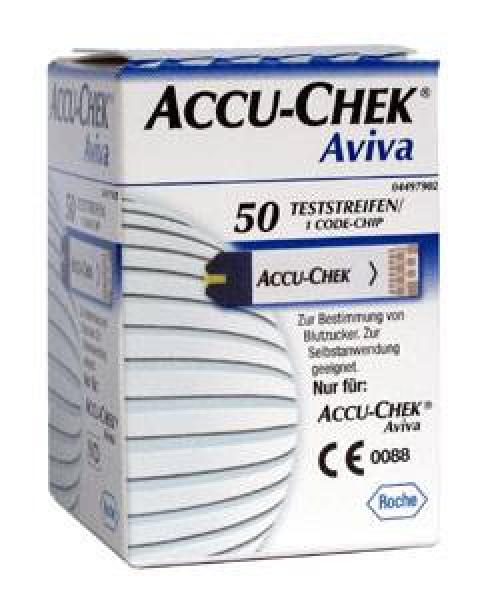 Accu-Chek Glucose Aviva Teststreifen - Saarmed Medizinbedarf GmbH Onlineshop