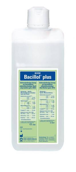 Bode Bacillol plus 1000 ml - Saarmed Medizinbedarf GmbH Onlineshop