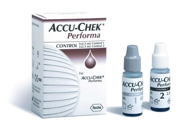 Accu-Check Performa Kontrolllösung - Saarmed Medizinbedarf GmbH Onlineshop