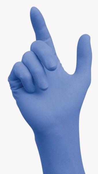 Sempercare Nitrile blau puderfrei Gr. M - Saarmed Medizinbedarf GmbH Onlineshop