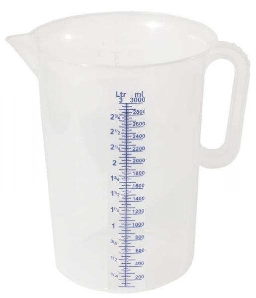 Messbecher 3 Liter - Saarmed Medizinbedarf GmbH Onlineshop