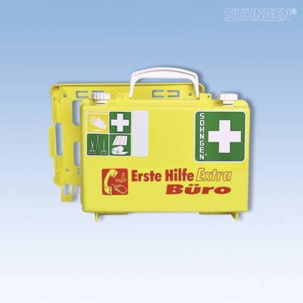 Erste-Hilfe extra Büro QUICK-CD gelb - Saarmed Medizinbedarf GmbH Onlineshop