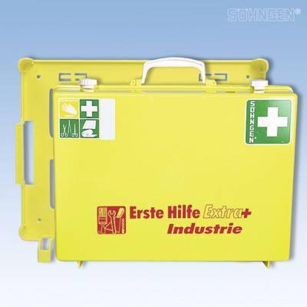 Erste-Hilfe extra + Industrie-MT-CD gelb - Saarmed Medizinbedarf GmbH Onlineshop
