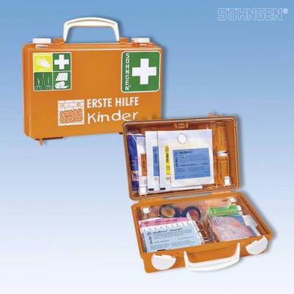Erste-Hilfe-Koffer QUICK-CD Kombi orange - Saarmed Medizinbedarf GmbH Onlineshop