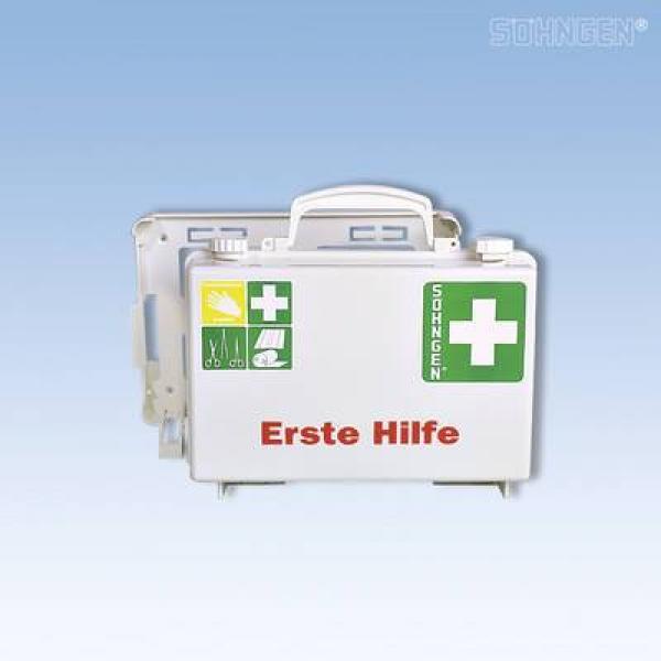 Erste-Hilfe-Koffer QUICK-CD Norm weiß - Saarmed Medizinbedarf GmbH Onlineshop
