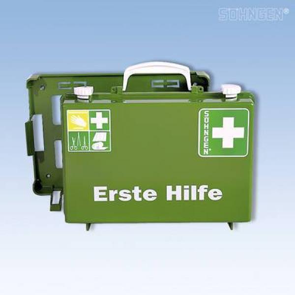 Erste-Hilfe-Koffer SN-CD Norm grün - Saarmed Medizinbedarf GmbH Onlineshop