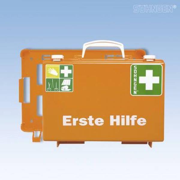 Erste-Hilfe-Koffer SN-CD leer orange - Saarmed Medizinbedarf GmbH Onlineshop