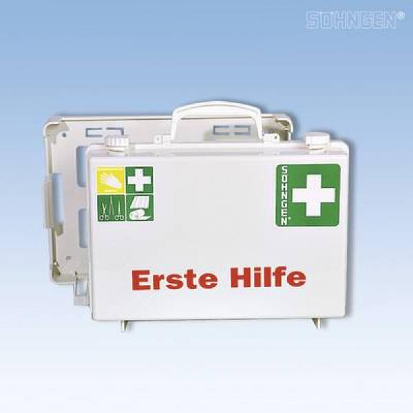 Erste-Hilfe-Koffer SN-CD Norm weiß - Saarmed Medizinbedarf GmbH Onlineshop
