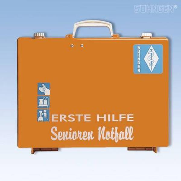 Erste-Hilfe Senioren Notfall MT-CD orang - Saarmed Medizinbedarf GmbH Onlineshop