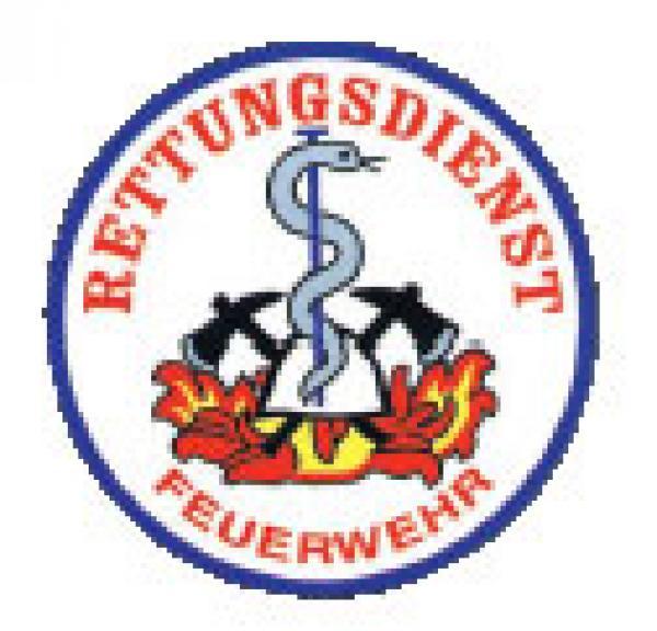 Aufkleber Rettungsdienst Feuerwehr - Saarmed Medizinbedarf GmbH Onlineshop