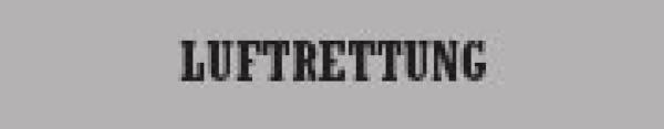 Rückenschild Luftrettung - Saarmed Medizinbedarf GmbH Onlineshop