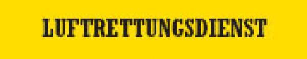 Rückenschild LUFTRETTUNGSTEAM - Saarmed Medizinbedarf GmbH Onlineshop
