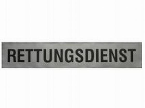 Rückenschild 3M silber; 42 x 8cm - Saarmed Medizinbedarf GmbH Onlineshop