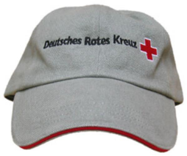 Base Cap DRK Stick rot - Saarmed Medizinbedarf GmbH Onlineshop