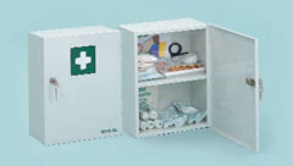 Verbandschrank Sanitas A Stahlblechschra - Saarmed Medizinbedarf GmbH Onlineshop