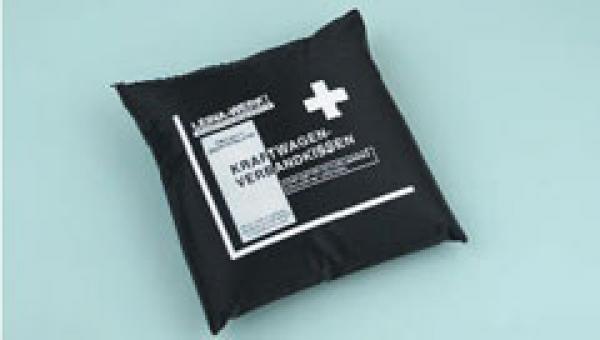 KFZ Verbandkissen, schwarz - Saarmed Medizinbedarf GmbH Onlineshop