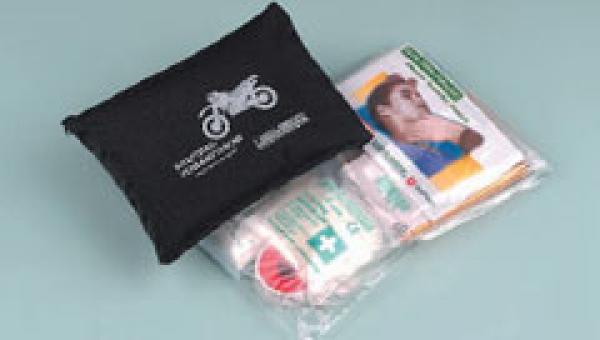 Kraftrad Verbandtasche, rot - Saarmed Medizinbedarf GmbH Onlineshop