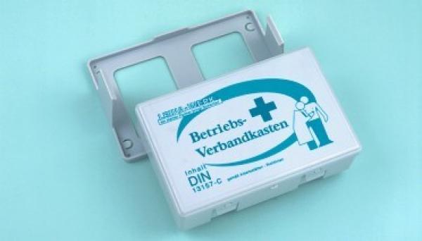 Betriebsverbandkasten grün - Saarmed Medizinbedarf GmbH Onlineshop