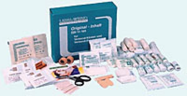 Füllung Erste-Hilfe Koffer Klein - Saarmed Medizinbedarf GmbH Onlineshop