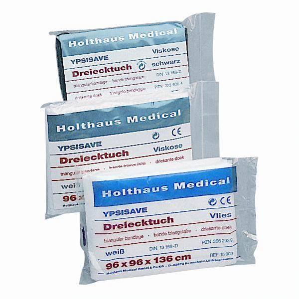 Dreiecktuch weiß aus Vlies - Saarmed Medizinbedarf GmbH Onlineshop