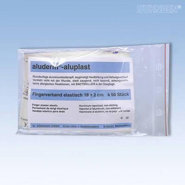aluderm® el. Fingerverband 18 x 2 cm - Saarmed Medizinbedarf GmbH Onlineshop