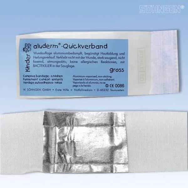 aluderm® Quickverband Kinder Groß - Saarmed Medizinbedarf GmbH Onlineshop