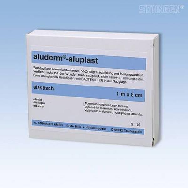 aluderm® aluplast elastisch 1 m x 8 cm - Saarmed Medizinbedarf GmbH Onlineshop