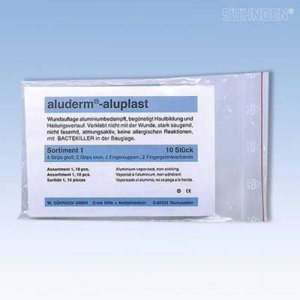 aluderm® aluplast Plaster-Sortiment - Saarmed Medizinbedarf GmbH Onlineshop