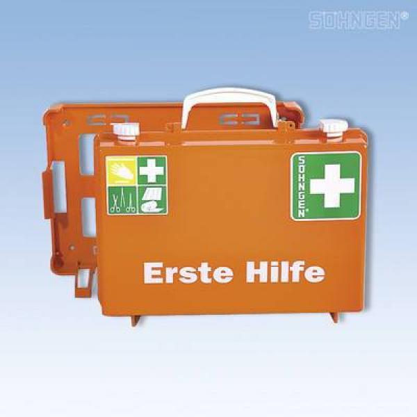 Erste-Hilfe-Koffer SN-CD Norm orange - Saarmed Medizinbedarf GmbH Onlineshop