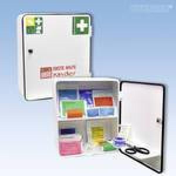 Erste-Hilfe Verbandsschrank Schule - Saarmed Medizinbedarf GmbH Onlineshop