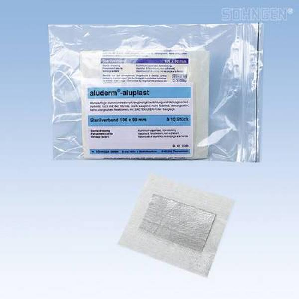 Aluderm Aluplast Sterilverbände - Saarmed Medizinbedarf GmbH Onlineshop