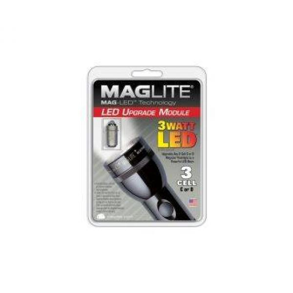 maglite led modul f r 3 zellen. Black Bedroom Furniture Sets. Home Design Ideas