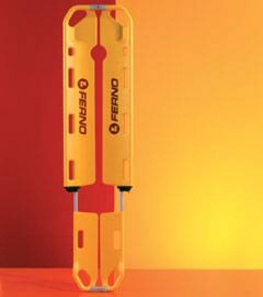 Schaufeltrage FERNO EXL gelb - Saarmed Medizinbedarf GmbH Onlineshop
